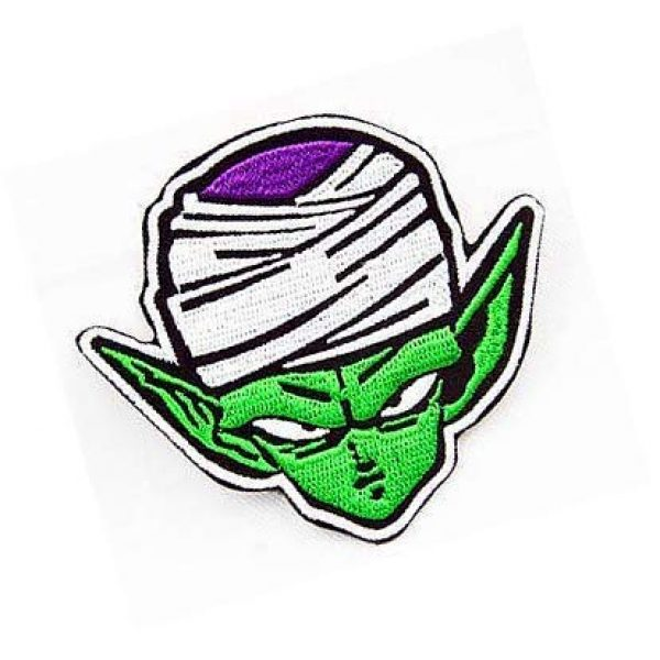 Embroidery Patch Airsoft Morale Patch 2 Dragon Ball Z Dragon Ball Piccolo Military Hook Loop Tactics Morale Embroidered Patch