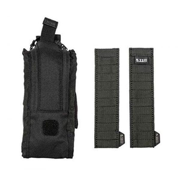5.11 Tactical Pouch 1 5.11 Tactical Style # 56489 Flex Med Pouch, Includes Extra Flex Hook Adaptor Style # 56480, All in Black