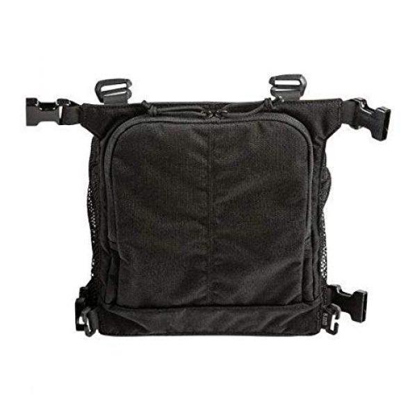 5.11 Tactical Pouch 2 5.11 Tactical Style # 56491 Helmet Pouch & Shove-It Gear Set, Black