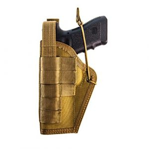 High Speed Gear Airsoft Gun Holster 1 High Speed Gear - HSGI: UNH - Ambidextrous Universal Nylon Holster, Holds medium sized handguns