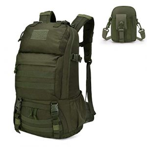 Mardingtop Tactical Backpack 1 Mardingtop Bundle Items: 40L Molle Hiking Tactical Backpack Aymy Green