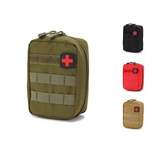 Homiego Tactical Pouch 1 Homiego Tactical MOLLE Rip-Away EMT Medical First Aid IFAK Blowout Pouch (MG)
