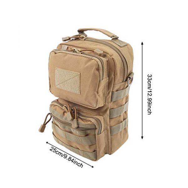 Bediffer Tactical Pouch 6 Bediffer Trekking Lightweight Hiking Waterproof Hiking Backpack for Men & Women