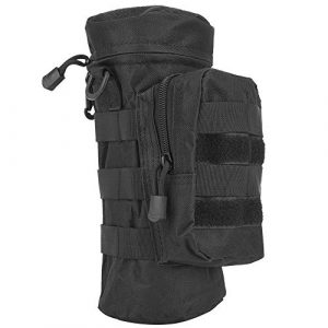 Yolispa Tactical Pouch 1 Yolispa Water Bottle Pouch Holder Large Capacity Military Molle Kettle Outdoor Portable Backpack Bag Camping Hiking Camping Shooting Fishing Cycling