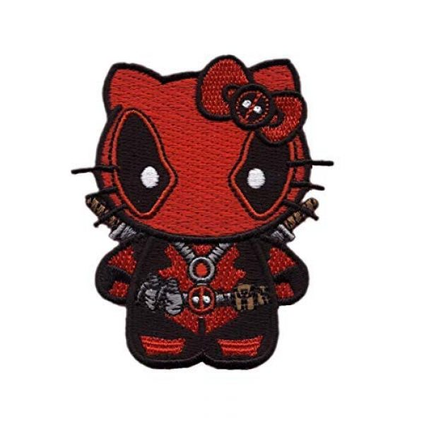 Hyrule Airsoft Morale Patch 1 Hello Deadpool Embroidered Tactical Morale Gear Patch Sew-On Iron On (1)