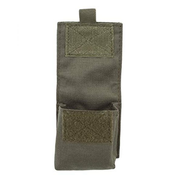 Bigsweety Tactical Pouch 2 Bigsweety Outdoor Portable Combat Pouch Flashlight Sheath Airsoft Hunting Hanging Bags for Men Women (Green)