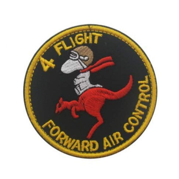 Tactical Embroidery Patch Airsoft Morale Patch 1 Australia Vietnam Royal Air Force Raaf 4 Flight Forward Air Control Embroidery Patch Military Tactical Morale Patch Badges Emblem Applique Hook Patches for Clothes Backpack Accessories