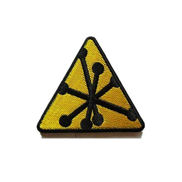 Embroidery Patch Airsoft Morale Patch 1 CBRN Rainbow Six CBRN Expert Military Hook Loop Tactics Morale Embroidered Patch