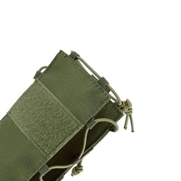 BESPORTBLE Tactical Pouch 6 BESPORTBLE Army Green Portable Outdoor Waist Pouch Sport Travel Elastic Water Bottle Bag Holder Kettle Carrier