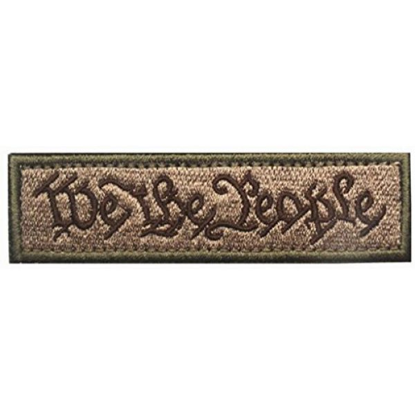 Horizon Airsoft Morale Patch 1 Horizon We The People - Tactical Morale Patch - Coyote Tan