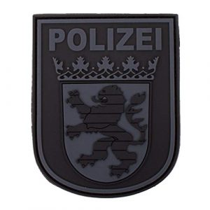 Jackets To Go Airsoft Morale Patch 1 Jackets To Go JTG German Police Hessen 3D Patch - blackops