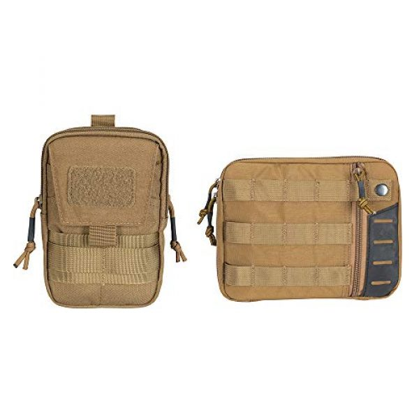 EXCELLENT ELITE SPANKER Tactical Pouch 1 Tactical Molle EDC Pouch Utility Molle Pouch Coyote Brown