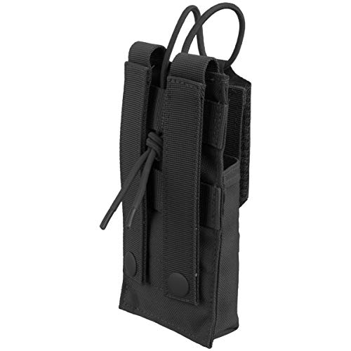 Condor Tactical Pouch 3 CONDOR 191223-002 Molle Tactical Patrol Radio Pouch Black