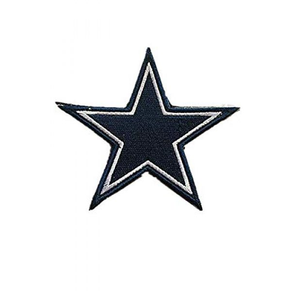 Embroidery Patch Airsoft Morale Patch 1 National Football League Dallas Military Hook Loop Tactics Morale Embroidered Patch