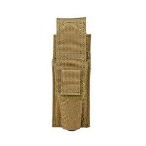 Sert Tactical Pouch 1 Sert MOLLE Flashlight Pouch, Tactical Flashlight Holster, Adjustable Flap Cover