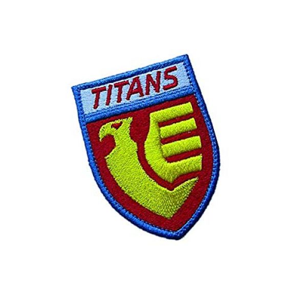 Embroidery Patch Airsoft Morale Patch 2 Titans Gundam Military Hook Loop Tactics Morale Embroidered Patch