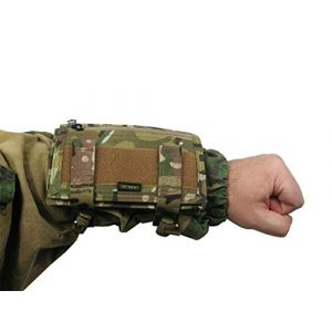 Tactic World Tactical Pouch 1 MOLLE Tactical Pouch case for MAP Tactical Papper on arm Tablet Hand Waterproof