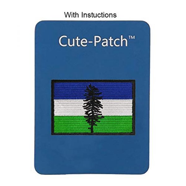 Cute-Patch Airsoft Morale Patch 3 Cascadia The Doug Flag Cascadian Embroidered Iron On Sew On Patch Badge