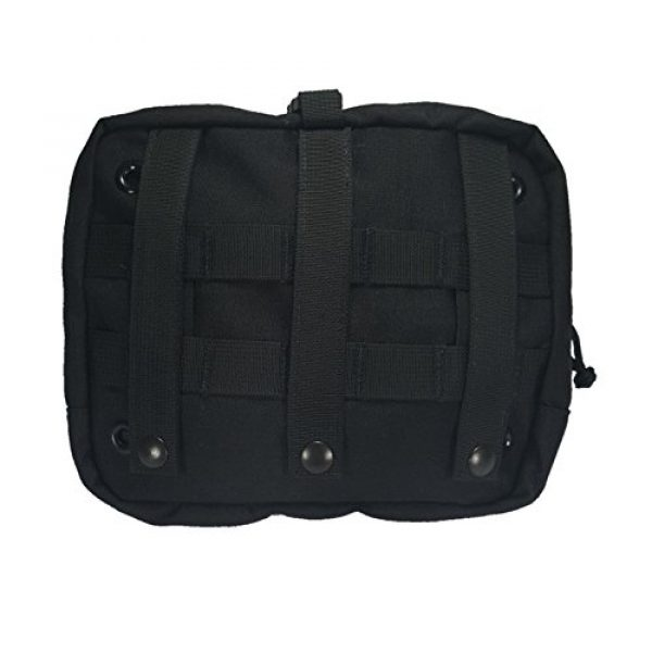 Ameratex Tactical Pouch 1 Ameratex Tactical Chest Pouch Rip Away Combat Medical Response Black