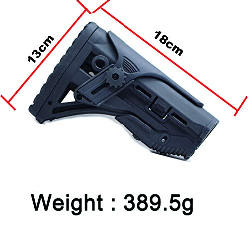 SONOVEL Airsoft Gun Stock 4 SONOVEL Soft Spring Toy Nylon Tail HolderFAB Rear Holder Nerf Tactical Modification Accessories Suitable for Water Bomb and NERF