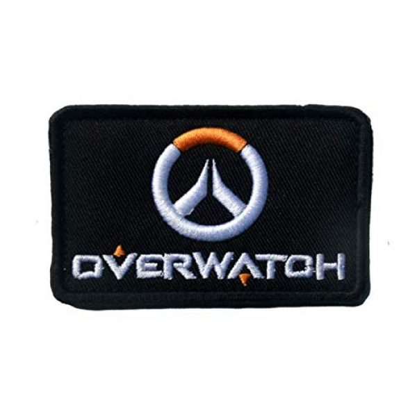 Tactical Embroidery Patch Airsoft Morale Patch 1 Overwatch OW Pioneer Logo Embroidery Patch Military Tactical Morale Patch Badges Emblem Applique Hook Patches for Clothes Backpack Accessories