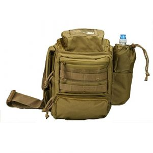 VooDoo Tactical Tactical Pouch 1 VooDoo Tactical 15-0457 Stakeout Bag Offers Padded Concealment Compartment