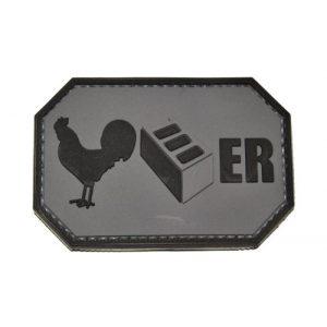 Tactical Morale Gear Airsoft Morale Patch 1 Cock Blocker Morale Patch - PVC SWAT