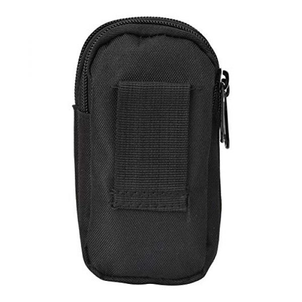 Shanbor Tactical Pouch 1 Shanbor Long Time Use Wear-Resistant Outdoor Accessory Bag, Convenient to Use 800D High Density Nylon Outdoor Bag, for(Black)