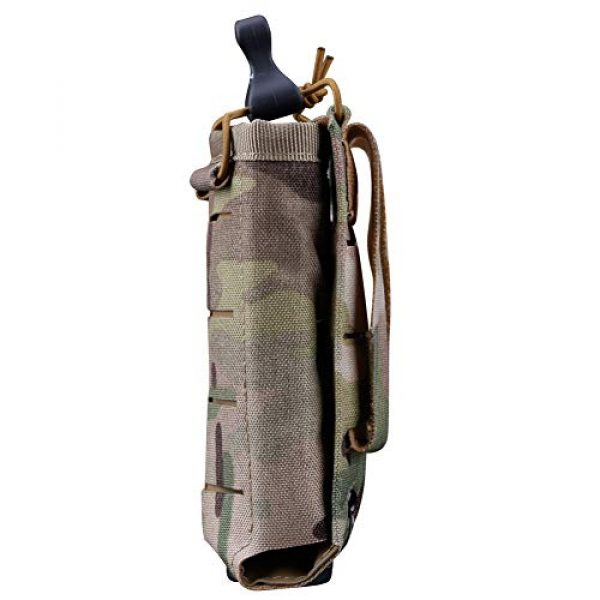 ATAIRSOFT Tactical Pouch 3 ATAIRSOFT Tactical Single MOLLE 1000D Adjustable Magazine Mag Holder Pouch Carrier for Airsoft Hunting Military Shooting