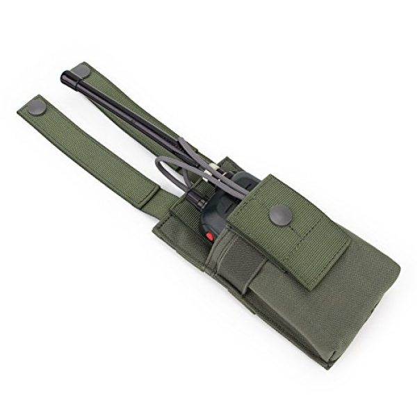 ATAIRSOFT Tactical Pouch 5 ATAIRSOFT Tactical MOLLE Radio Pouch Holder Bag Airsoft Walkie Talkies Holster for BaoFeng UV-5R/UV-82