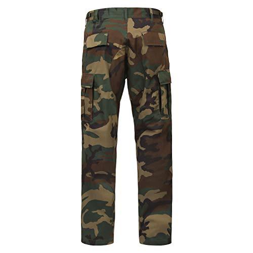 Rothco Tactical Pant 3 Camo Tactical BDU (Battle Dress Uniform) Military Cargo Pants