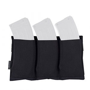 EMERSONGEAR Tactical Pouch 1 EMERSONGEAR Molle M4 Triple Mag Pouch Magazine for Airsoft Wargame Gear