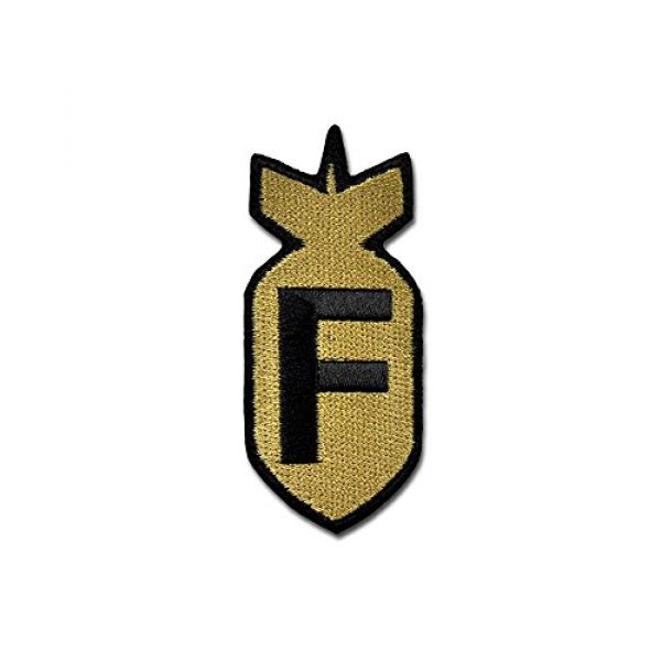 BASTION Airsoft Morale Patch 1 BASTION Morale Patches (F Bomb, ACU)   3D Embroidered Patches with Hook & Loop Fastener Backing   Well-Made Clean Stitching   Military Patches Ideal for Tactical Bag, Hats & Vest