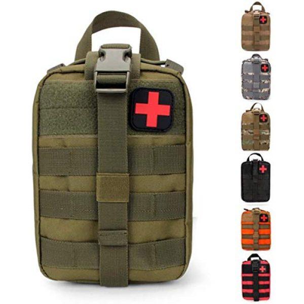 ACOMOO Tactical Pouch 1 ACOMOO Outdoor Tactics MOLLE Rip-Away Medical Emergency Rescue Bag Outdoor Medical Bag Climbing Climbing