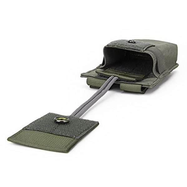 ATAIRSOFT Tactical Pouch 7 ATAIRSOFT Tactical MOLLE Radio Pouch Holder Bag Airsoft Walkie Talkies Holster for BaoFeng UV-5R/UV-82
