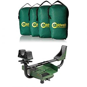 Caldwell Shooting Rest Sled 1 Caldwell 533117 Lead Shot Weight Bag - 4 Pack, Green Lead Sled 3 Adjustable Ambidextrous Recoil Reducing Rifle Shooting Rest for Outdoor Range