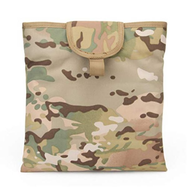 BESPORTBLE Tactical Pouch 6 BESPORTBLE Molle Utility Pouch Recycling Bag Vest Accessory Sundries Storage Field Equipment Holder for Cs Game Paintball Hunting (ACU Style)