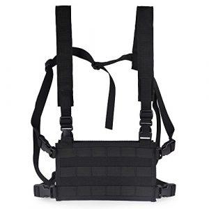 High Speed Gear Airsoft Tactical Vest 1 HSGI: Black HSG Light Chest Rig Platform