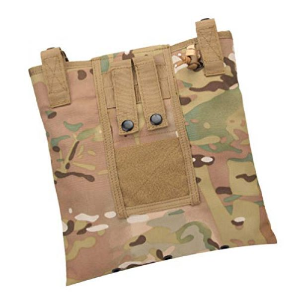 BESPORTBLE Tactical Pouch 2 BESPORTBLE Molle Utility Pouch Recycling Bag Vest Accessory Sundries Storage Field Equipment Holder for Cs Game Paintball Hunting (ACU Style)