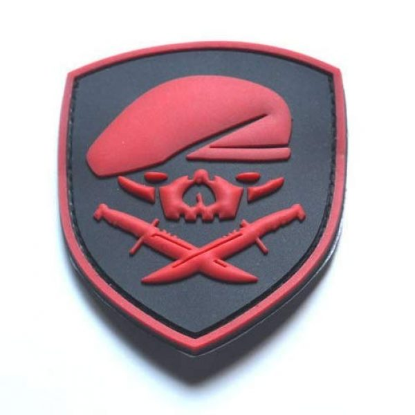 Tactical PVC Patch Airsoft Morale Patch 4 Ranger 75th Regiment AFO Delta Force Seals Medal of Honor MOH PVC Military Tactical Morale Patch Badges Emblem Applique Hook Patches for Clothes Backpack Accessories