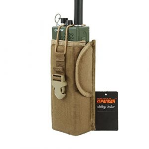 EXCELLENT ELITE SPANKER Tactical Pouch 1 EXCELLENT ELITE SPANKER Tactical Universal Radio Holster Pouch Holder Case Bag Molle Adjustable Military Walkie Talkie Holder