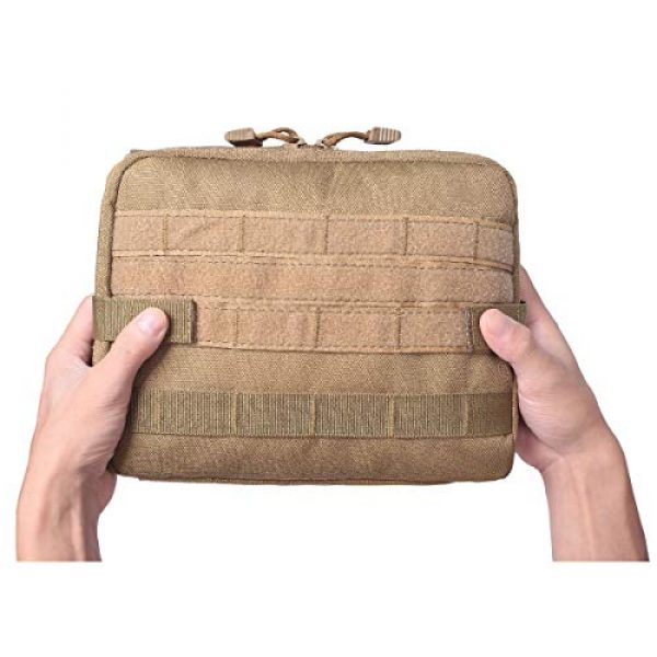 TRIWONDER Tactical Pouch 4 TRIWONDER Tactical Admin Molle Pouch Compact Utility Gadget Gear Tool Bag EDC Pouch Military EMT Organizer