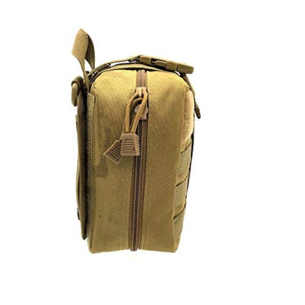 Miyha Tactical Pouch 3 MOLLE Tactical Rip-Away EMT Medical First Aid IFAK Blowout Pouch (Bag Only)