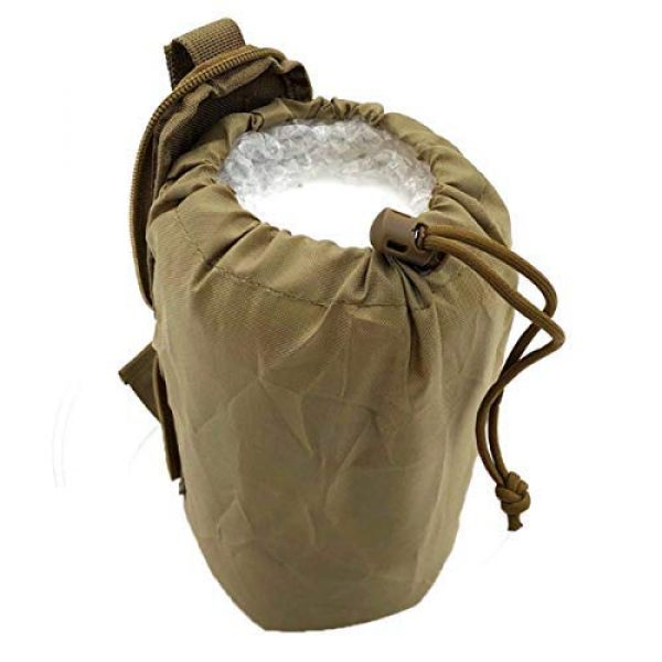 AIWAYING Tactical Pouch 4 AIWAYING Molle Dump Pouch Drawstring Spacious Folding Magazine Bag Military Holster Pack Outdoor Water Bottle Ammo Pouch