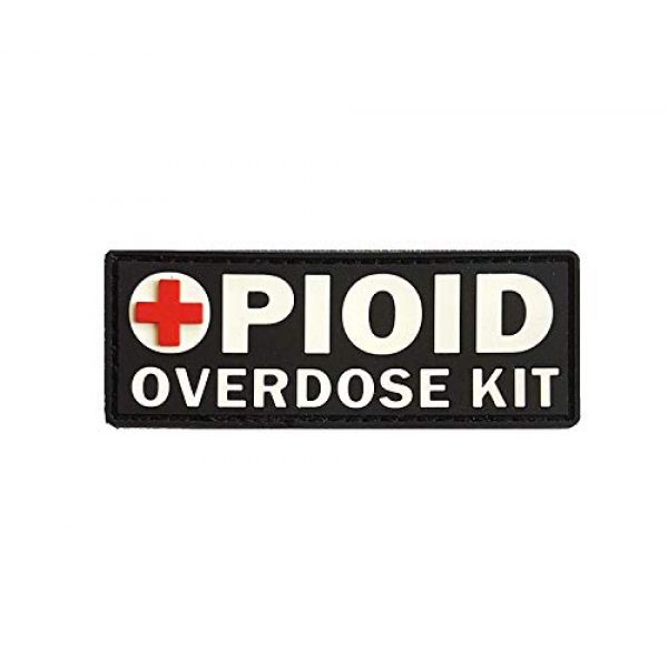 Tactical Innovations Canada Airsoft Morale Patch 1 PVC Morale Patch - OPIOID Overdose Kit (Patch Only)