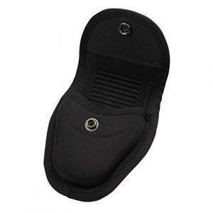 ROCOTACTICAL Tactical Pouch 4 ROCOTACTICAL Hidden Snap Single Handcuff Case for Duty Belt, Molded Single Handcuff Holder