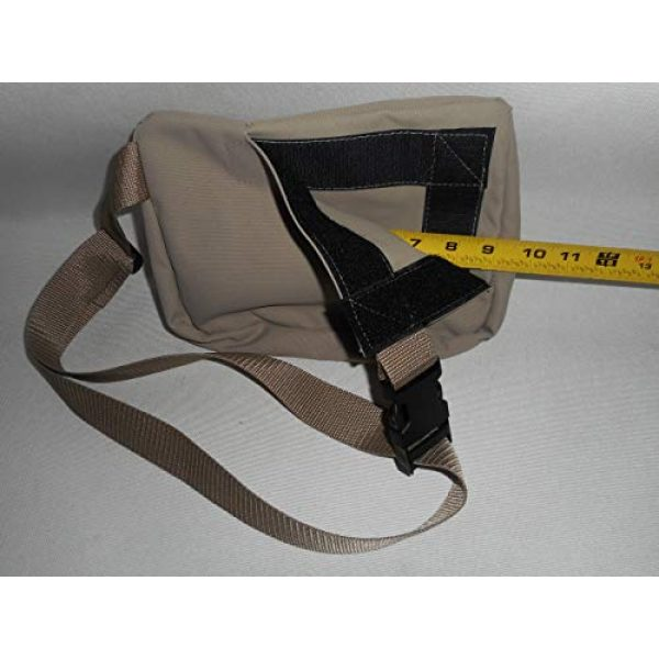 BAGS USA Tactical Pouch 6 BAGS USA Law Enforcement Fanny Pack,Gun Fanny Pack with Hidden Pocket,Made in U.s.a.