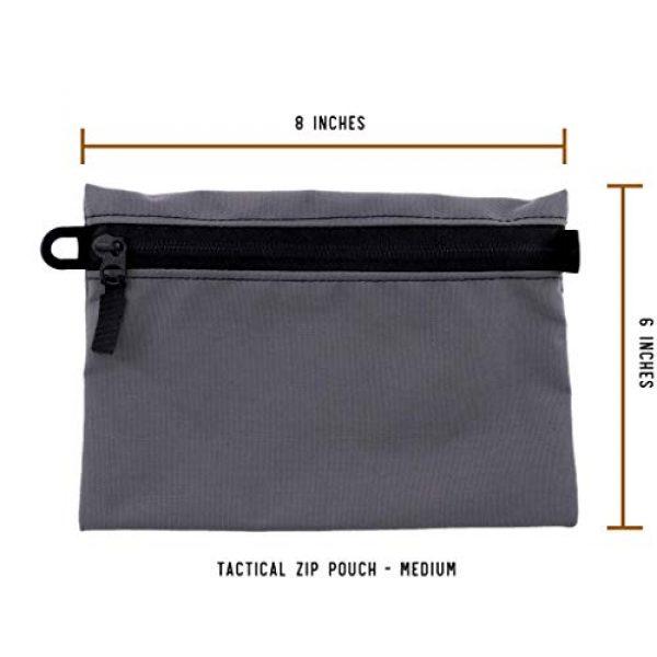 Battle Board Tactical Pouch 3 Battle Board Tactical Zip Pouch - Wolf Grey Accessory Pouch