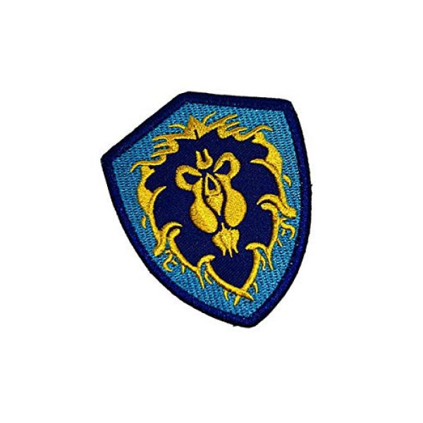 Embroidery Patch Airsoft Morale Patch 2 World of Warcraft Tribe Terran Military Hook Loop Tactics Morale Embroidered Patch