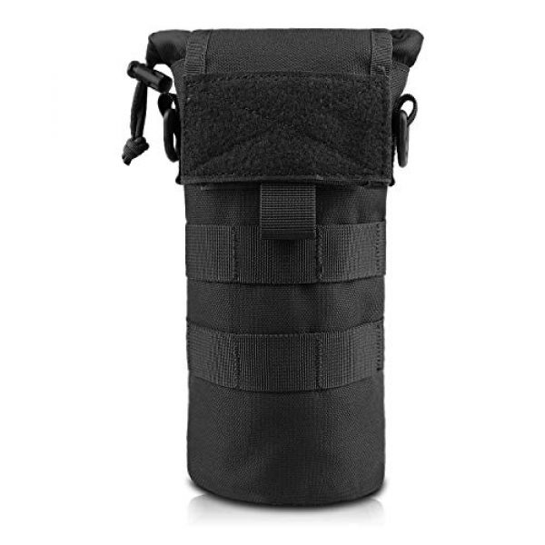 AMYIPO Tactical Pouch 1 AMYIPO Folding Water Bottle Pouch Molle Tactical Holder Storage Bag for 32oz Carrier